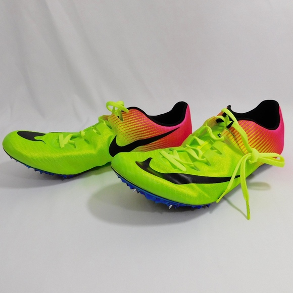 20d562409733 Nike Zoom Superfly Elite Sprinting Shoes Volt Pink.  M 5b6f9c5fc617771767440285